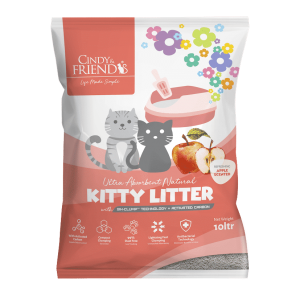 Cindy & Friends Apple Scented Kitty Litter