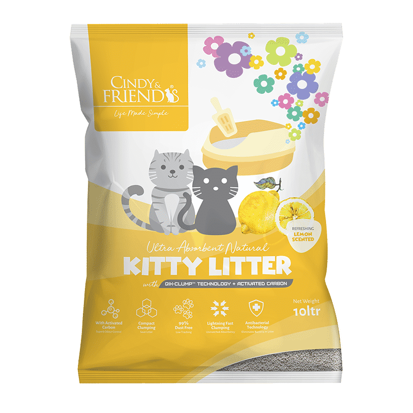 Cindy & Friends Lemon Scented Kitty Litter
