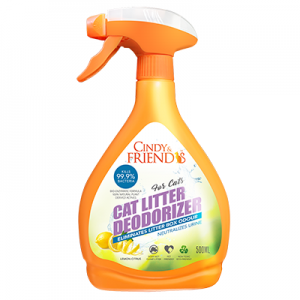 Cat Litter Deodorizer Spray (Lemon Citrus Flavour)