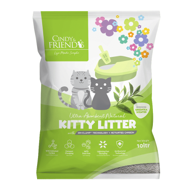 C&F Kitty Litter_GreenTea_S
