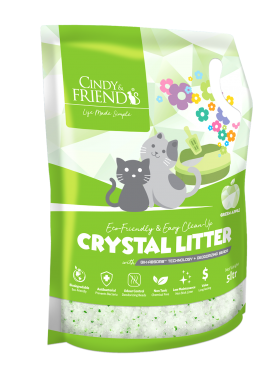 CNF Crystal Litter_Green Apple