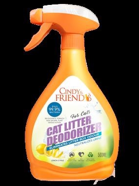 Cindy & Freinds Spray_CatLitterDeodorizer_LemonCitrus_S-min