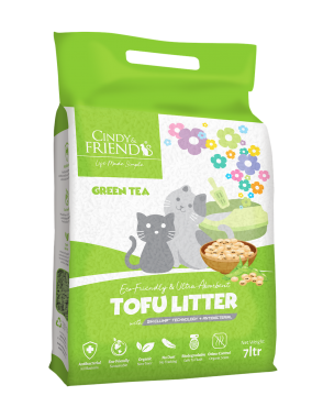 Cindy _ Friends Tofu Litter_Green Tea
